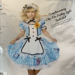 Costumes - Deluxe Alice in Wonderland size Large 10/12